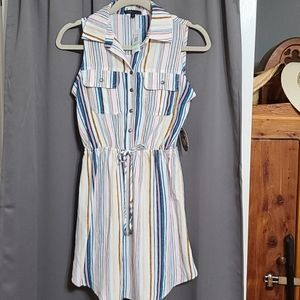 Bebop NWT striped dress size XS